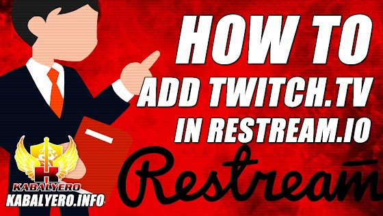 Restream.io Tutorial ★ How To Add Twitch.tv In Restream.io