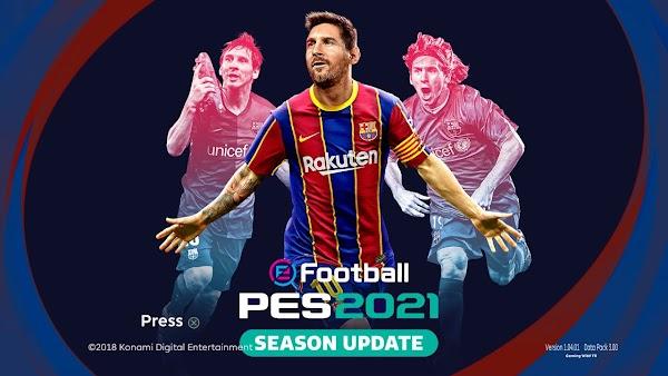 PES 2021 PPSSPP OFFLINE Update Download
