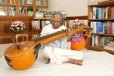 Dr. Abthulkalam with Veena