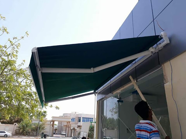 Door Awnings Suppliers in Dubai Sharjah Ajman and UAE Fixed Awnings + Commercial Awnigns + Canopy Awnings + Retractble Awnings + Foldable Awnings Suppliers in Dubai + Sharjah + Ajman + UAE.