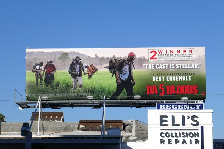 Da 5 Bloods FYC billboard