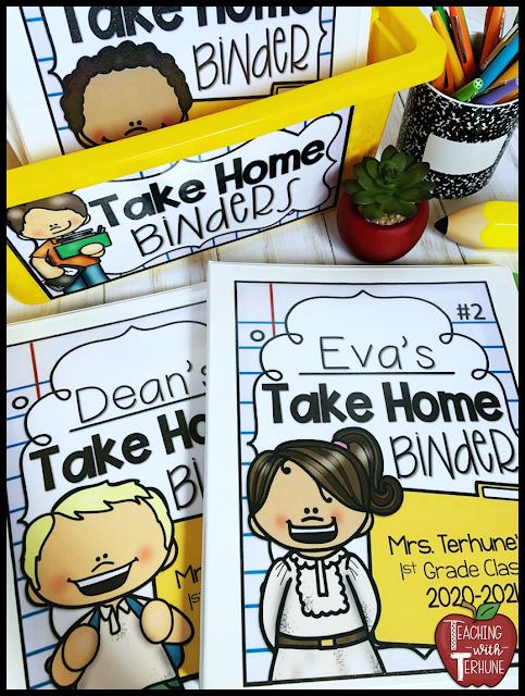 Take Home Binder Covers