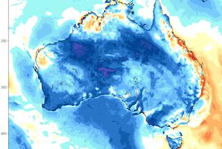 Australia esta viviendo temperaturas súper frías.