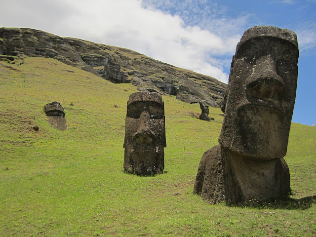 stone, Statue, Easter Island,