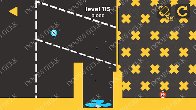 Ball & Ball Level 115 Solution, Walkthrough, Cheats for android and ios