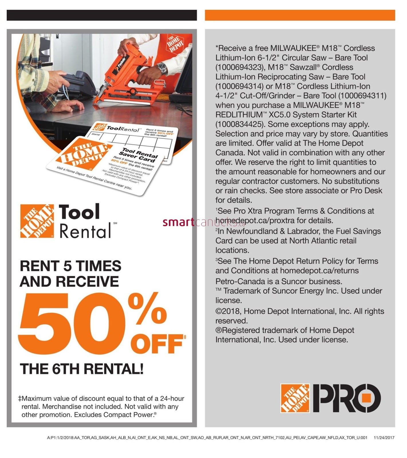 Home Depot Flyer January 2 Pro Savings Event Weekly