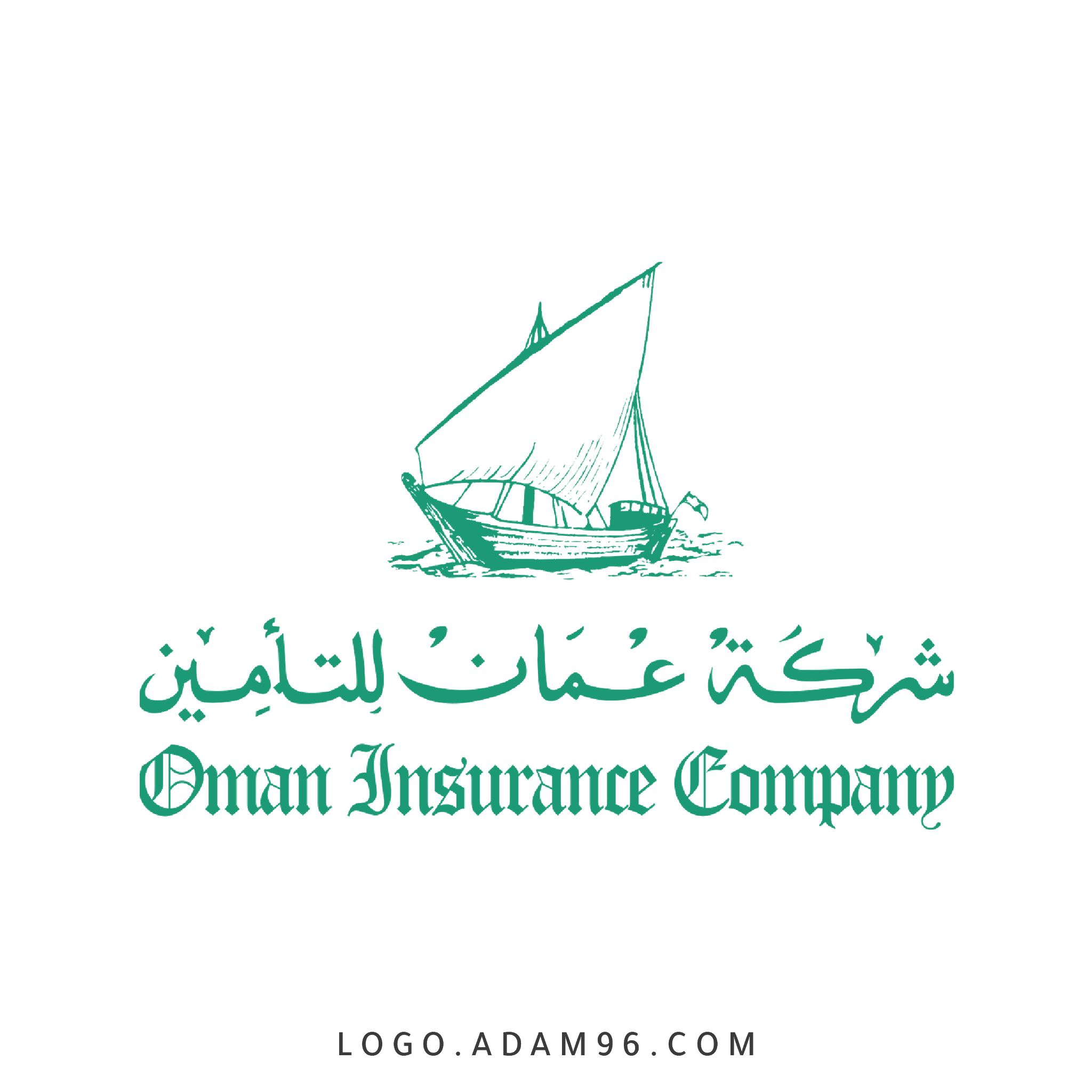 تحميل شعار شركة عُمان للتأمين لوجو رسمي عالي الجودة PNG