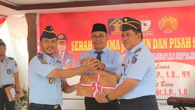 Sertijab, Muhammad  Najib Nakhodai Lapas Kelas 2 Tebo