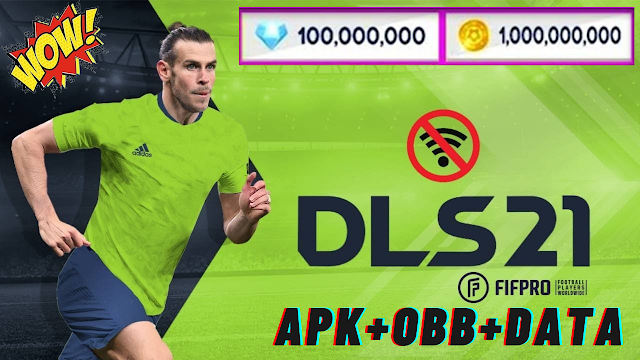 Download Dream League Soccer 2021 Dls 21 unlimited coins and diamond