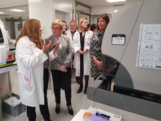 El Hospital Arnau de Vilanova cuenta con un nuevo laboratorio de Análisis Clínicos y de Urgencias