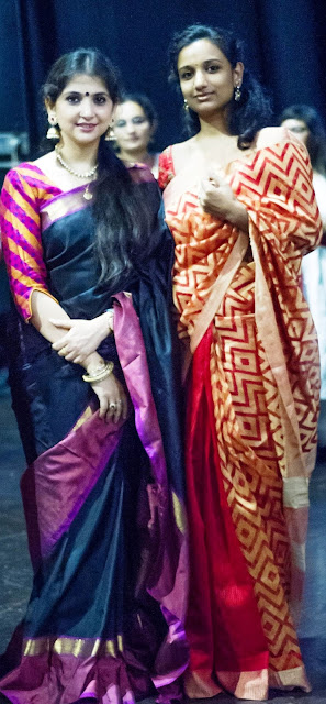 Kaushiki Chakraborty with Yamini Reddy-