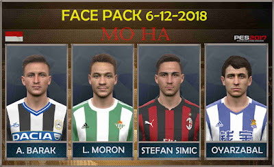 PES 2017 Facepack 6-12-2018 by Mo Ha