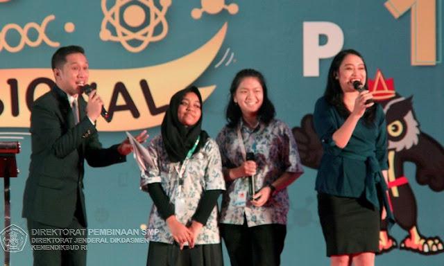 pembukaan OSN SMP 2019
