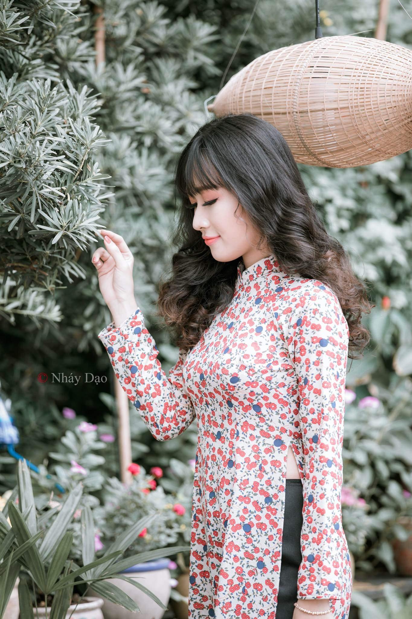 Tuyển tập girl xinh gái đẹp Việt Nam mặc áo dài đẹp mê hồn #60 - 7