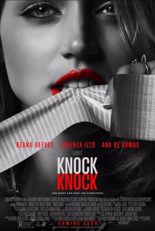 Sinopsis Knock Knock : sinopsis, knock, DARK:, Knock, (Oficial, Fantàstic, Competició, Sitges, 2015)
