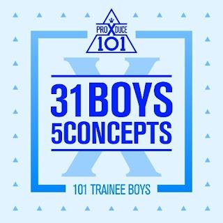 [Mini Album] PRODUCE X 101 - 31 Boys 5 Concepts full zip rar 320kbps