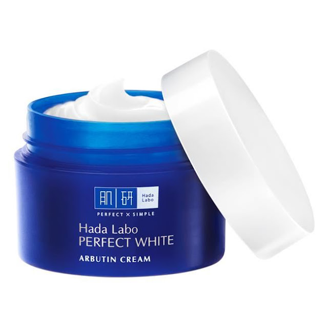 Review Kem dưỡng Hada Laba Perfect White Arbutin Cream, hada labo, kem dưỡng da hada labo, kem dưỡng ẩm, hada labo perfect white cream