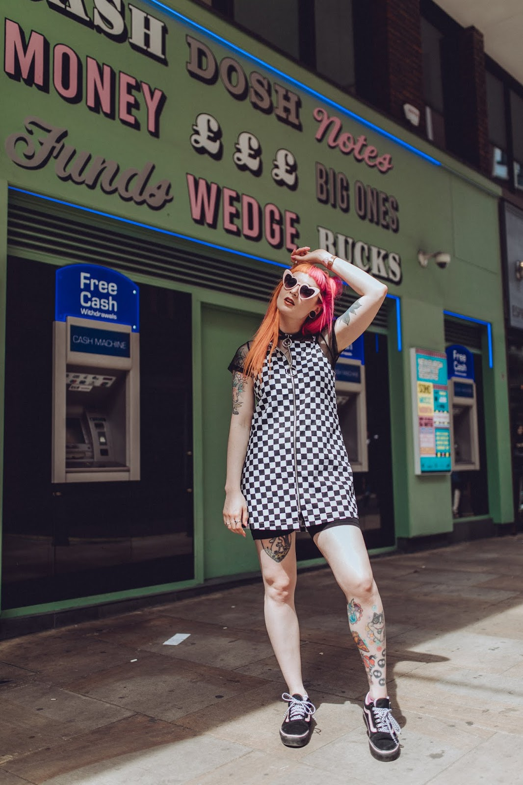 Alternative Fashion Blogger Foxxtaiz Styles A Love Too True Dress