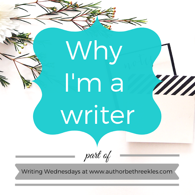 In this post, I talk about why I'm a writer - and why, really, it was never a decision I actually made.
