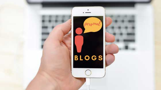 types of blogs, personal blogs