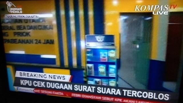 KPU dan Bawaslu ke Tanjung Priok untuk Periksa Kabar Surat Suara yang Tercoblos