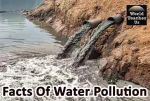 Water Pollution Facts, Types, Causes and Effects of Water