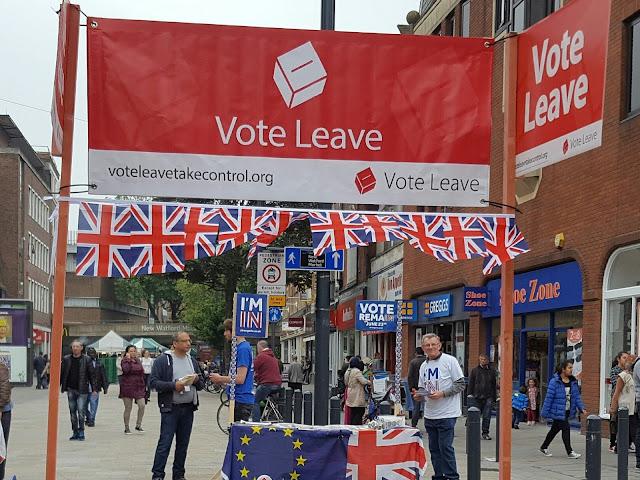 propaganda sul referendum brexit, sostenitori del leave