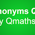 Synonyms mcq quiz for SSC, RRB, LIC, and other exams