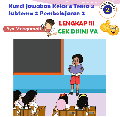 Kunci Jawaban Tematik Kelas 3 Tema 2 Subtema 2 Pembelajaran 2 Halaman 68, Halaman 70, Halaman 71, Halaman 72 www.simplenews.me