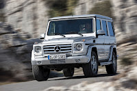2012 New Mercedes G350 BlueTEC facelift upgrade refresh restyled change generation official press original 4x4