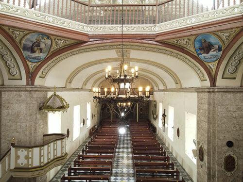 Interior of the Caysasay Church