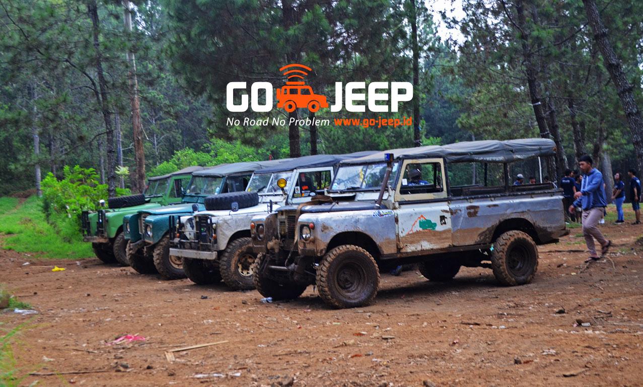 landy atau land rover Bandung Offroad