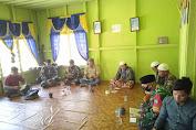 Jelang Ramadhan, Satgas Pamtas RI-Malaysia Bersama Warga Gelar Doa Bersama