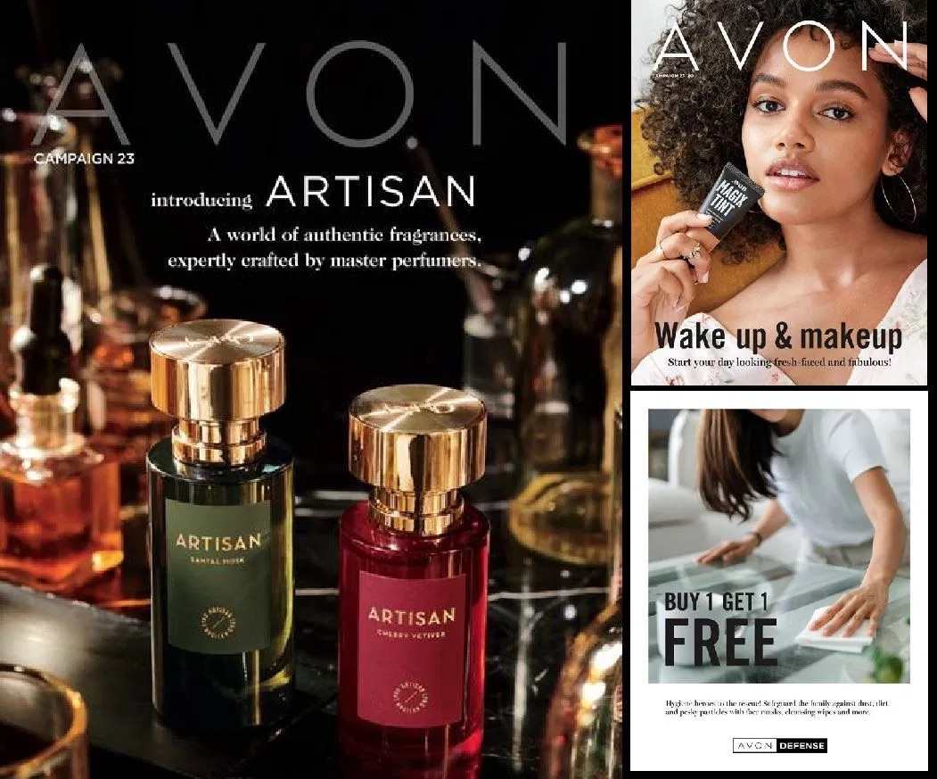 #Avon Campaign 23 2020 The #Brochure #Online - Introducing Artisan