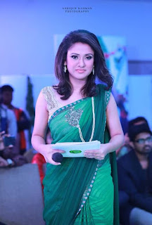 Sonia Hossain Bangladeshi Actress Biography Hot HD Photos In Green Shree