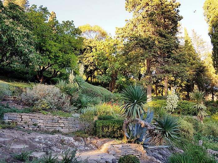 Jardins de la Fontaine Nîmes et Look Automne 02
