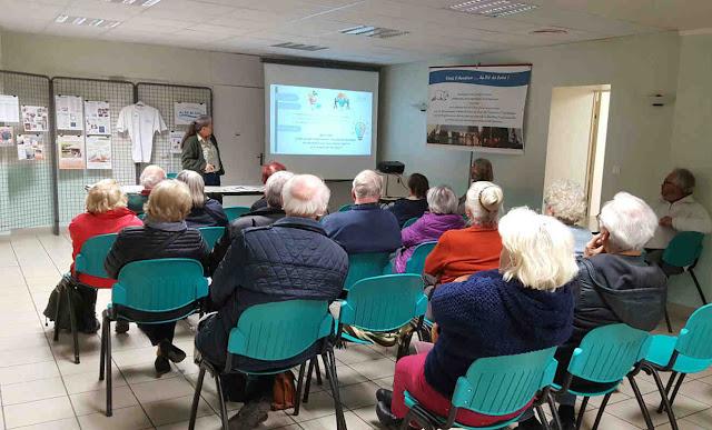 Réunion de présentation publique du projet de l'association Animation & Découverte au Fil de Loire