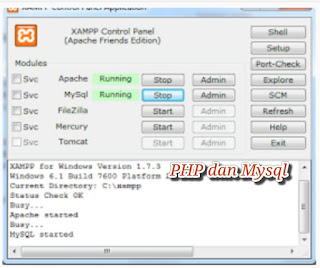 Cara Membuat Web Dengan PHP Dan Mysql