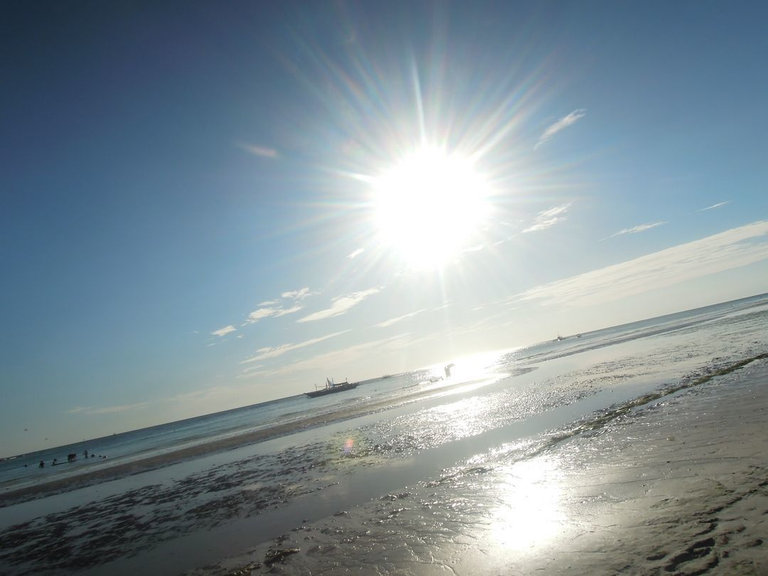 Sunshine in Boracay