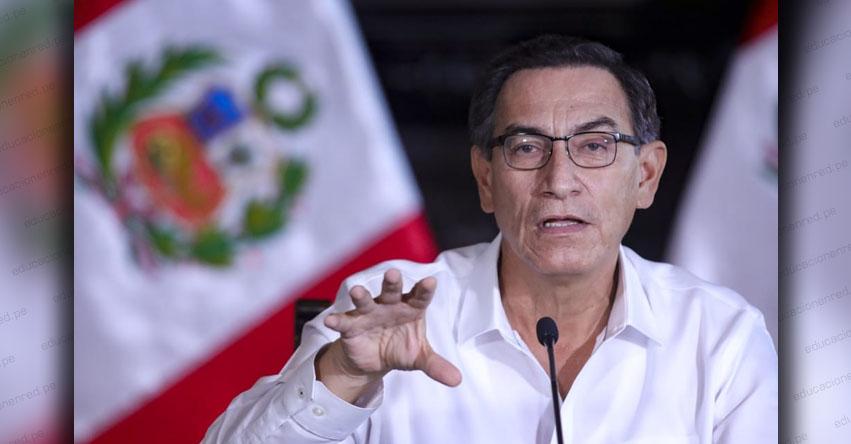 MARTÍN VIZCARRA CORNEJO: Expresidente evalúa ser candidato al Congreso