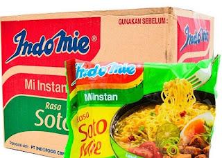 mie instan untuk makanan saat krisis
