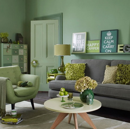 Lounges in green color 1