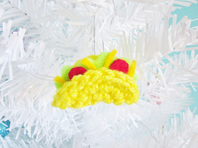 Fast Food Crochet Ornaments