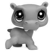LPS Hippo V1 Pets