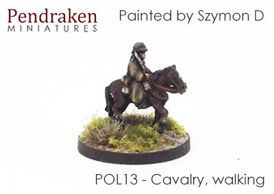 POL13 Cavalry, walking