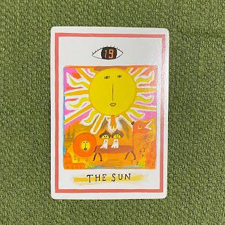 タロットカード,太陽,the sun,ワン・オラクル