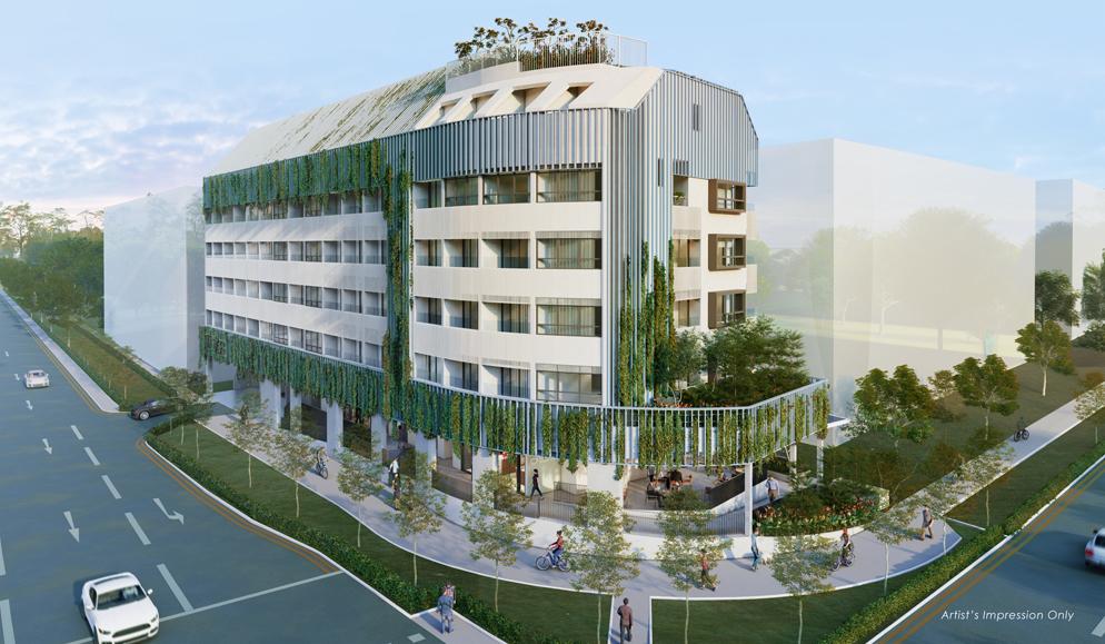 Tedge - Building Facade
