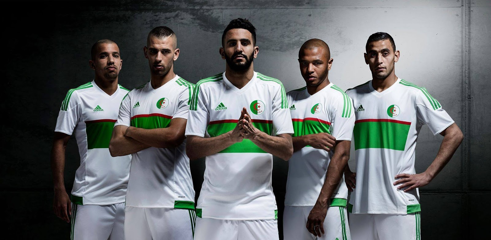 algeria national team jersey