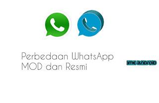 Perbedaan WhatsApp mod dan WhatsApp biasa