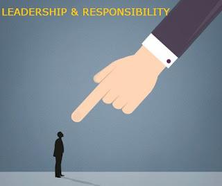 Seorang Pemimpin Harus Bersedia Untuk Mengambil Tanggung Jawab
